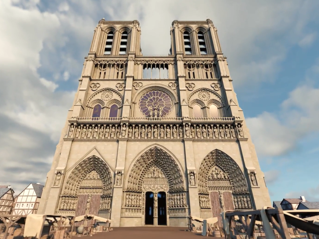 Notre-Dame de Paris, l'indestructible